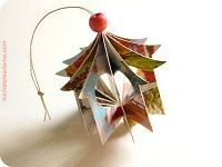 lots of lovely tutorials. I especially liver this ornament because it uses Christmas cards and looks gorgeous