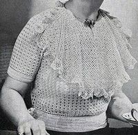 Softie Pullover #1063 by Free Vintage Crochet