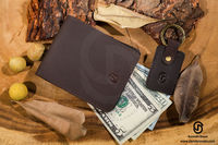 Hunter money clip Wallet Purely Hand Crafted Wallet.jpg