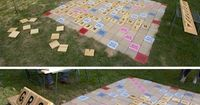 """""""32 Of The Best DIY Backyard Games You Will Ever Play"""". Giant Scrabble is rocking my world - must make."""