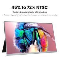 T-Bao T16A 15 Inch 1080P Type C Portable Computer Monitor Gaming Display Screen for Smartphone Tablet Laptop Game Consoles