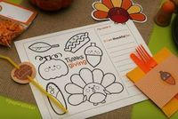 Maddycakes Muse: Kids Thanksgiving Table Ideas