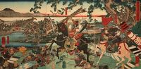 Tomoe Gozen was a fierce female Samurai warrior born in 1184. It is believed she fought in the Genpei War and survived.