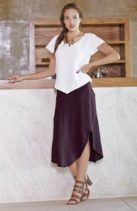 Gauze Cotton Skirt, $46.00, https://kollekcio.com