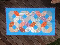 Anorina 6 Quilted Table Runner from Samelias Mum: National Sewing Month 2013