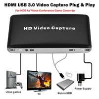 1080P HDMI USB 3.0 Video Capture Card Plug and Play for HDD AV Video Game Converter