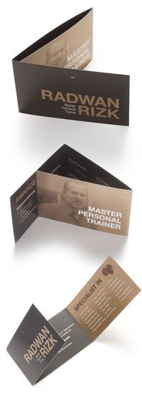 I love everything about this! - Master Trainer Collateral by Nour S. Kanafani , via Behance
