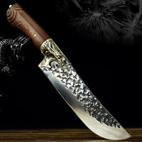Chef Knife Universal Home Kitchen Tool Dragon Sculpture Handle $117.80