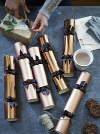 Luxury Copper Crackers