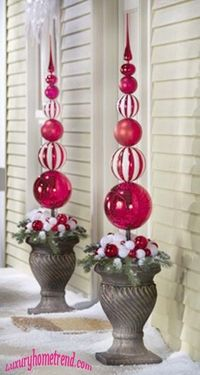 40 Trendy Outdoor Christmas Decorations