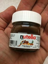 Nutella Mini Glass Bottles - (16) .88 Oz. Single Serve Bottles