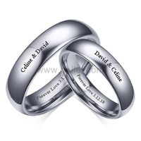 Engraved Matching Tungsten Weddings Bands Set for 2 https://www.gullei.com/engraved-matching-tungsten-weddings-bands-set-for-2.html