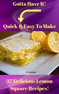 Lemon, show us your sunny pop of color and your intense burst of flavor. Where would we, and these 37 Delicious Lemon Square Recipes, be without you? These lemon squares, are as pretty as they are delicious. And so easy to make using my full step by step ...