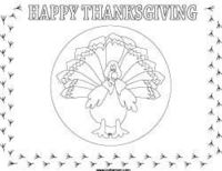 thanksgiving place mat printable