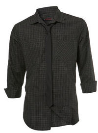 Burton Green Check Shirt and Tie Roll sleeve green check shirt with a plain black skinny tie. 60% Cotton,40% Polyester. Machine washable. http://www.comparestoreprices.co.uk//burton-green-check-shirt-and-tie.asp