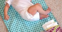 Tutorial: Diaper Changing Pad Clutch and Mat.....great DIY gifts for all of my�€�