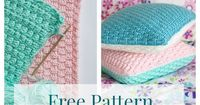 "Free Pillow Cover Crochet Pattern | �˜'�™""�–‡�—��""•�—� �–‡�™""�""•�˜'�™""�˜�˜Ž�""� http://www.pinterest.com/teretegui"