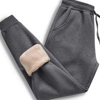 Winter Thick Fleece Jogger Super Extra Warm Mens Sweatpants,NEW,on Sale! More Info:https://cheapsalemarket.com/product/winter-thick-fleece-jogger-super-extra-warm-mens-sweatpants/