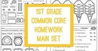 If you want to know more about our philosophy on homework and see why this packet is only 100 pages, read this post about our 2nd grade homework. It's done! It'
