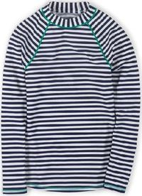 Boden Rash Vest Sailor Blue/Ivory Stripe Boden, Sailor For the sportier swimmer, this long-sleeved rash vest provides full coverage for all surf-side activities - and dries quickly after youve taken the plunge. Co-ordinates with our mix-and-match swimwear...