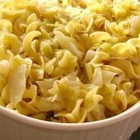 Haluski - Cabbage and Noodles - couldn't find the other recipe but found this one instead. Sounds easy and delicious.