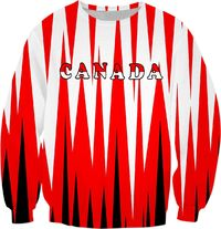 Red White Canada Sweatshirt $59.95