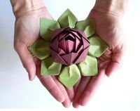 lotus flowers, flower decorations and paper flowers.