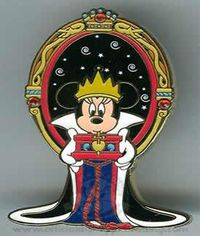 Disney Minnie Mouse as the Evil Queen
