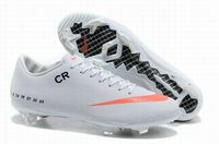 Nike Mercurial Veloce FG Soccer Cleats White Orange