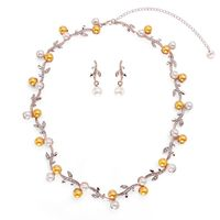 Buy this beautiful necklace for your upcoming party.It comes with matching earrings.You can buy this from Yoko's fashion, a wholesaler of fashion necklace set in manchester.