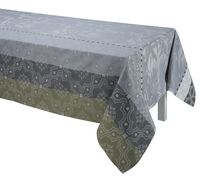 Bahia Grey Table Linen by Le Jacquard Français $190.00
