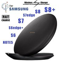 Original QI Folding Fast Charging Pad Wireless Dock Stand Charger Fast Charge for SAMSUNG Galaxy S8,S8 Plus G928F,S7edge,G9300 ( $54.00