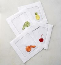 Frutta Cocktail Napkin by Sferra $40.00