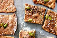 Whole Wheat Seed Crackers