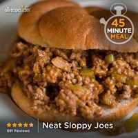 """Neat Sloppy Joes 