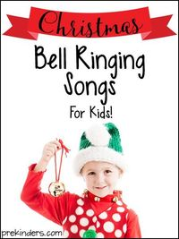 Get your jingle bells ready and let your kids enjoy these Christmas Bell Ringing Songs! Perfect for preschool/ kindergarten kids to ring bells as they sing.