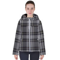 Womens hooded puffer jacket $45.00