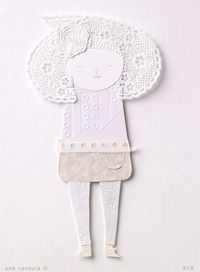 paper doll #78 30cm x 40cm available