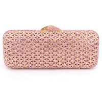 Evening Bag Luxury Diamond Crystal Evening Purse / Hollow Out $154.05