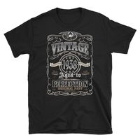 Made In born in 1938 Birthday 80 years old T-shirt $19.99