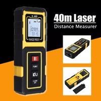 40m Handheld Digital Laser Distance Measurer Meter Range Finder Diastimeter Tool