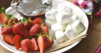 Looking for a dessert with a bit of flair? Try this it's simple to make and less than 5 ingredient Easy Chocolate Fondue recipe. Your family will thank you.