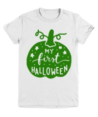My First Halloween Halloween Light Youth T-Shirt $17.95