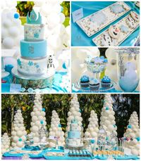 This darling FROZEN INSPIRED SECOND BIRTHDAY PARTY was submitted by Lillly Jimenez of I Heart Sugar Sugar.