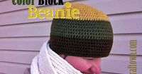 Ravelry: Color Block Beanie pattern by Tia Davis..free