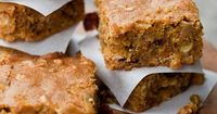 Can you imagine? Butter nut squash blondies with white chocolate and cranberrries AND browned butter! Wow. -- from food+words