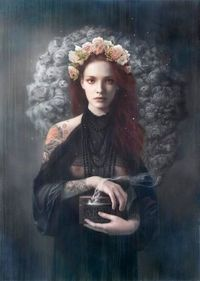 About Tom Tom Bagshaw lives Bath, England, and works as a commercial illustrator. His personal work explore fantastical and mystic themes. The intricate style o