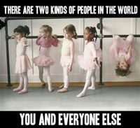 This was so me when i was in ballet as a little girl i could never pay attention lol