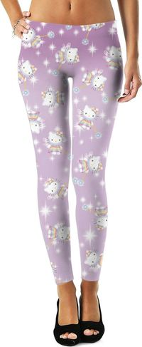 Hello Kitty 90's Rainbow Fairy Leggings $49.00