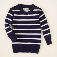 baby boy - striped v-neck sweater | Children's Clothing | Kids Clothes | The Children's Place
